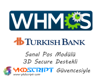 Whmcs Turkish Bank Sanal Pos Entegrasyon Modülü